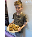 Zac bakes some amazing biscuits