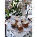 Matus bakes yummy cake