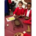 a Roman frying pan