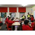 Year 5 Gormley enjoying Mini Police