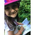 Isabel's flower hunt