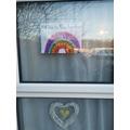 Sonny's Rainbow. Can you spot it on a rainbow walk