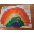Alexa is grateful for rainbows