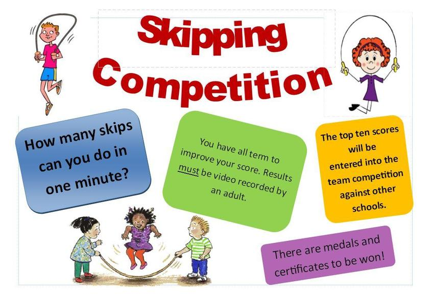 Top 10 skippers will go against other KS2 schools