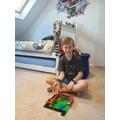 Matus does lego creation