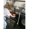 James bakes bread