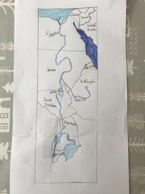 Ewan's Nile Diagram
