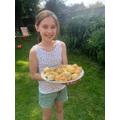 Mia Bakes VE day scones