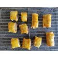 Charlotte's sausage rolls - yummy!