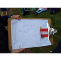 Geography Field Trip - sketch map of The Chilterns