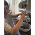 Seoirse bakes chocolate loaf cake