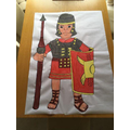 Mrs Bexon drew a Roman soldier..jpg