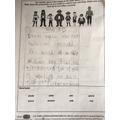 Taha's wonderful writing about pirates..JPG
