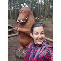 Miss MacDonald meets The Gruffalo