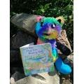 Rainbow the teddy
