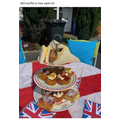 Miss Neal's afternoon tea to celebrate VE day