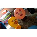 Callum's animal balloons