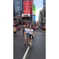 Lauren and Aimee in Times Square