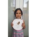 Ruqayya's made an excellent compass..jpg
