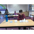 Sultan and his collection of beautiful 3D shapes.