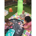 Lottie, Reina, Mrs Linnecor 's daughter, Olivia had a play date..jpg