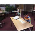 Back to school - Tara and Taha doing some beautiful reading..jpg
