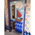 Step into class 6 through this magical door!