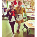 Mrs Tildesley and Miss Booth