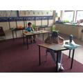 Back to school - Zoya and Callum working hard.jpg