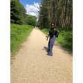 Miss Dube has been taking walks in new places!.JPG