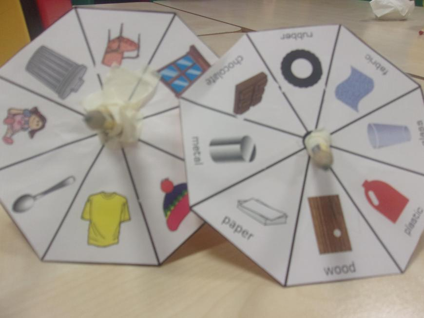 Materials Spinners
