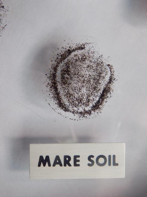 Moon soil
