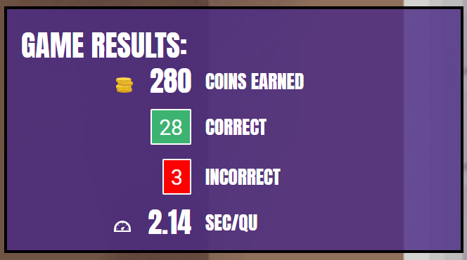 Can you beat my score?