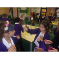 Taste testing to find the favourite!