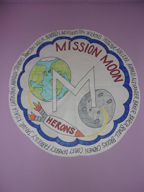 We created a class mission badge for the week