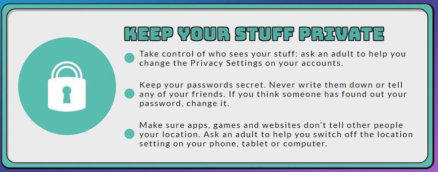 Keep stuff private
