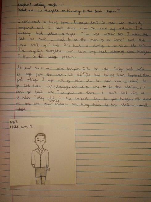 Rhea's chapter 1 writing task
