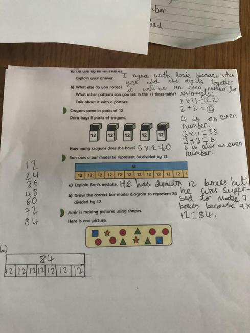 Ishaam's Maths Work
