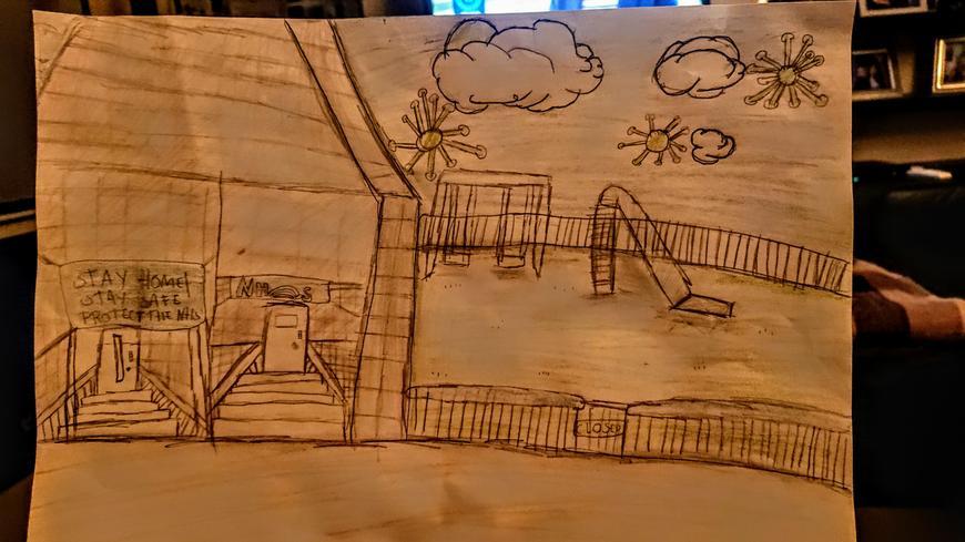 Natasha's artwork