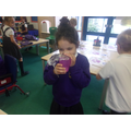 Testing our sense of smell!