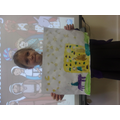 Nativity painting for RE