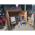 Literacy and Maths shed