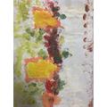 Artwork inspired by Monet's Haystacks