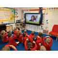 Year 2 learning about WrapSplatHat in assembly