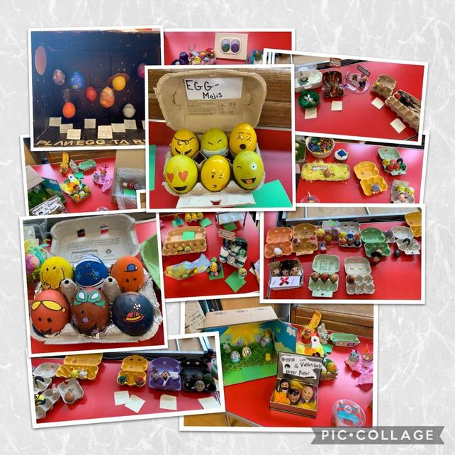 Welcoming spring and celebrating Easter with egg-cellent egg decorating!
