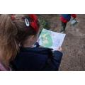 Year 2 orienteering at Sherwood
