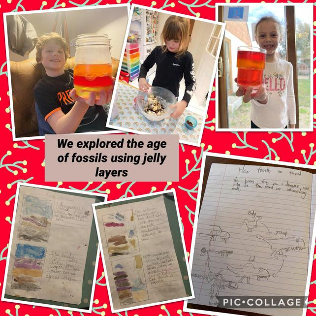 Year 3 palaeontologists from their homes! #sciencerocks