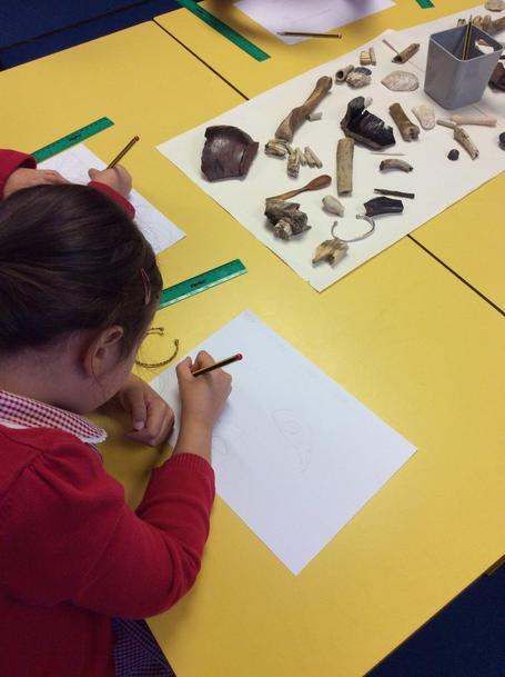 Observing and examining artefacts in Y2