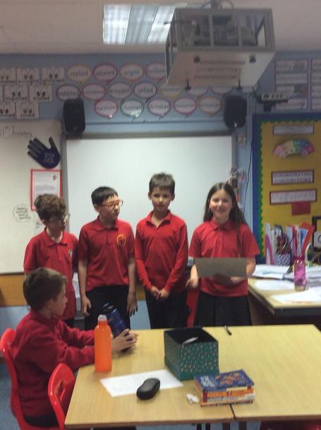 y5 debating on community issues