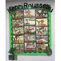Year 2 responses to 'Surprised! Tiger in a Tropical Storm' by Rousseau